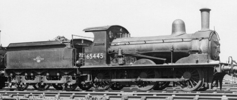 J15 BR No. 65445 at Stratford in 1962, with Westinghouse brake (PH.Groom)