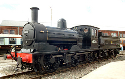 J21 No. 65033 at the Doncaster 150 celebrations (Geoff Byman FRPS)