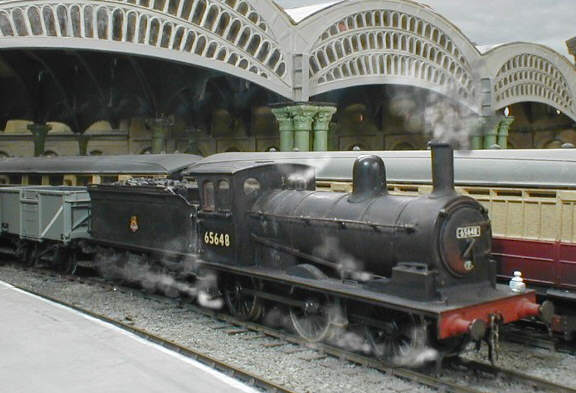 Model built from the George Norton 4mm kit of the J25 (c.Colombo)