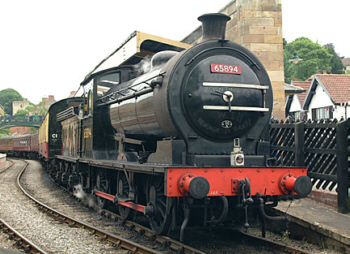 J27 No. 65894 on the North Yorkshire Moors Railway (Geoff Byman FRPS)