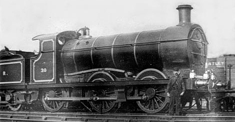 HBR Class L1 No. 2412 (LNER J28/1) at Bullcroft Junction (M.Peirson)