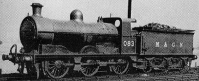 J3 M&GN No. 083 in about 1937