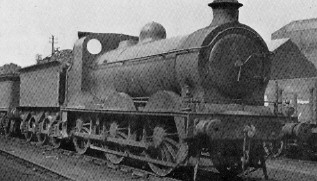 J31 No. 10206 at Kipps in 1936