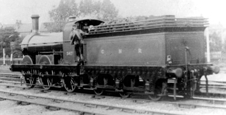 J3 GNR No. 347 at New Barnet in 1900 (M.Peirson)
