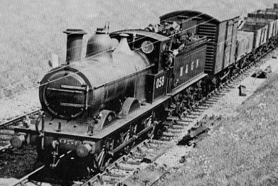 J40 No. 058 in M&GN livery near Melton Constable, 1937