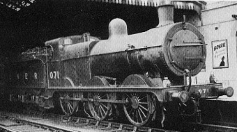 J41 No. 071 in LNER livert at Peterborough, 1939