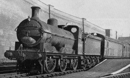 J5 No. 65497 at Nottingham Victoria in 1950