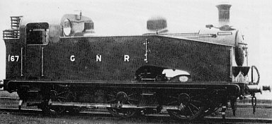 Class J51/1 GNR No. 167, at Doncaster in 1914