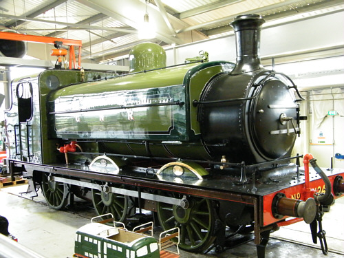 Preserved J52 GNR No. 1247 at Shildon Locomotion (R.Langham)