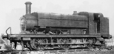 J57 No. 3144A with domeless boiler