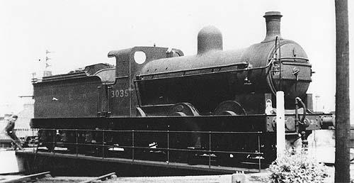 J5 No. 3035 in LNER livery (c.Rosewarne)