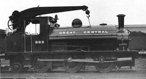 J62 GCR crane tank No. 889 (M.Peirson)