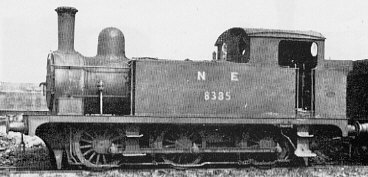 J66 No. 8385, at Stratford in 1948