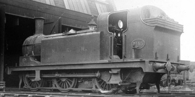 J75, NER No. 3145 at Cudworth Shed in 1922 (M.Peirson)