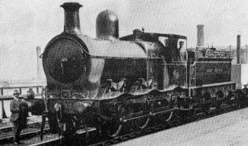J8 GCR No. 559 at Sheffield Victoria