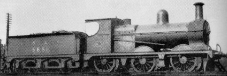 J9/1 No. 5651 at Kipps in 1925