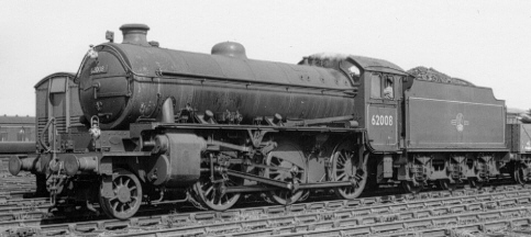 Class K1 No. 62008 at Heaton in 1960 (PH.Groom)