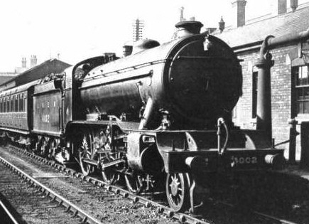 Gresley K3/1 No. 4002 as built (M.Peirson)