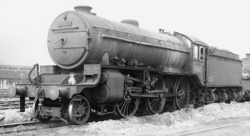 Class K5 No. 61863 at Stratford in 1960 (PH.Groom)