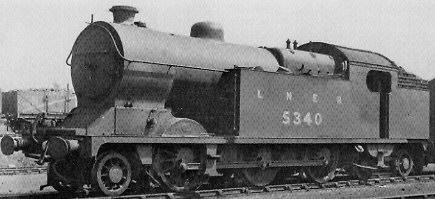Robinson L1 / L3 (GCR Class 1B) 2-6-4T Tank No. 5340 at Neasden