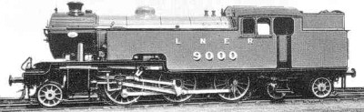Thompson L1 LNER No. 9000 (M.Peirson)