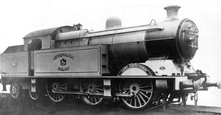 Jones M2 (Metropolitan Class G) 0-6-4T No. 94 'Lord Aberconway' (M.Peirson)