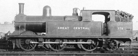 Class N4, GCR Class 9A No. 775 (M.Peirson)