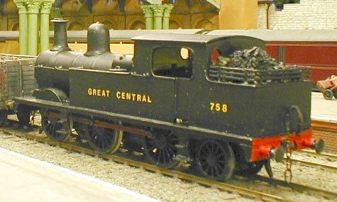 Arnie Buxton's 4mm model of the N5 running on Colombo's York layout