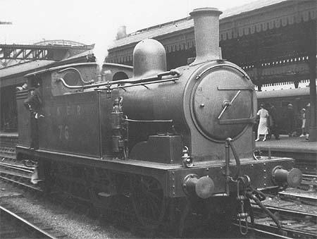N8 No. 76 in LNER livery (c.Rosewarne)