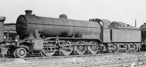 Class O2/2 No. 63940 at Grantham in 1958 (PH.Groom)