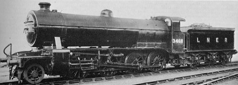 Class O3 No. 3468 at Doncaster in 1946