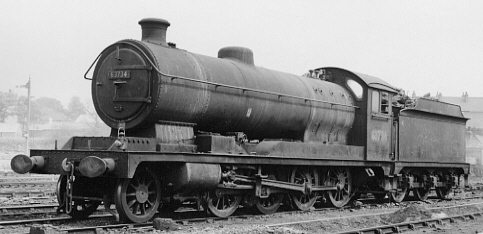 Class O4/8 No. 63734 at Retford in 1964 (PH.Groom)