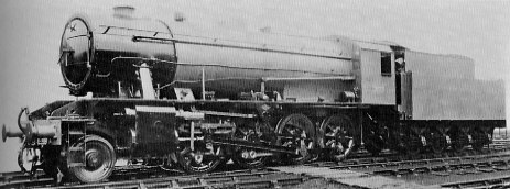 WD Austerity (Class O7) No. 7177 at Doncaster in 1945 prepared for dispatch to the Continent