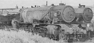Soham train explosion casualty: WD Austerity No. 7337 at Cambridge, 11th June 1944