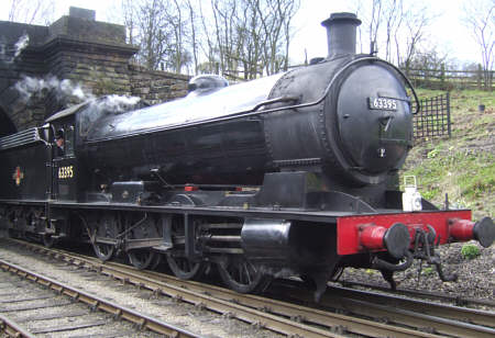 Preserved Raven Q6 No. 63396 at Grosmont (M.Turner)