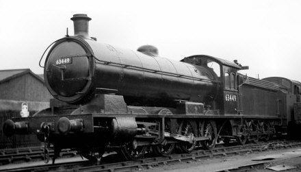 Raven Q6 at Darlington Works in 1949 (M.Morant)