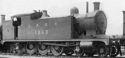 Wilson Worsdell T1 4-8-0 Tank Locomotive