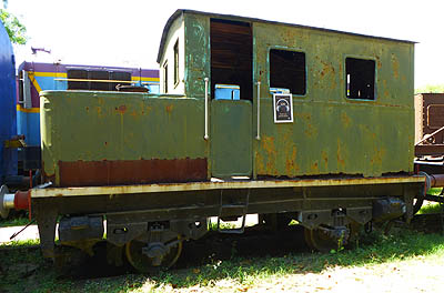 Surviving 0-4-0VBT Sentinel at the Indian National Rail Museum (R.Houston)