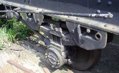 Axlebox detail on No. 68153