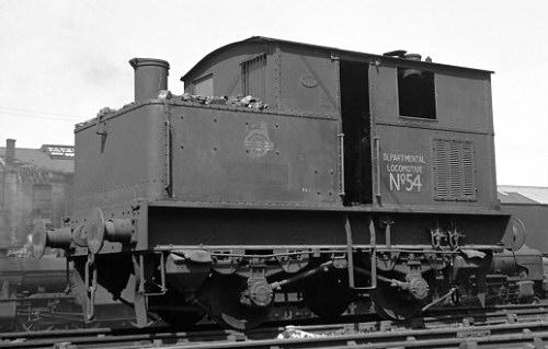 Sentinel Shunter Class Y1 Departmental No. 54 (BR. No. 68153) (M.Morant)