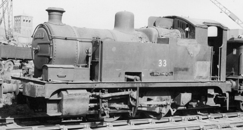GER Y4 0-6-0T, Deparmental No. 33 (PH Groom)
