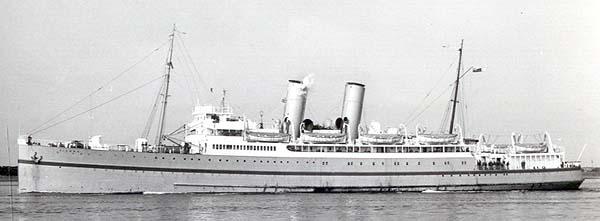 Vienna as a troop ship (c. G.Robinson)