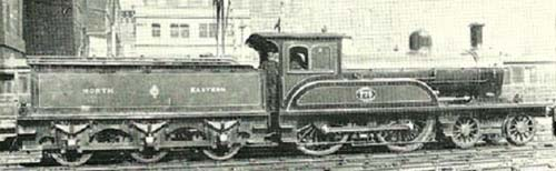 Fig. 10, NER No. 779 at Edinburgh Waverley (author's collection)