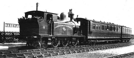 LYR 2-4-2T No. 229 at Haxey Junction (M.Peirson)