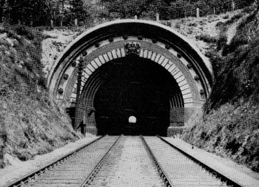 Southern portal of the Audley End tunnel