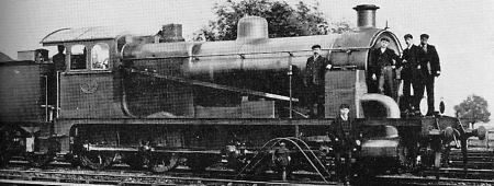 The Decapod rebuilt as a 0-8-0