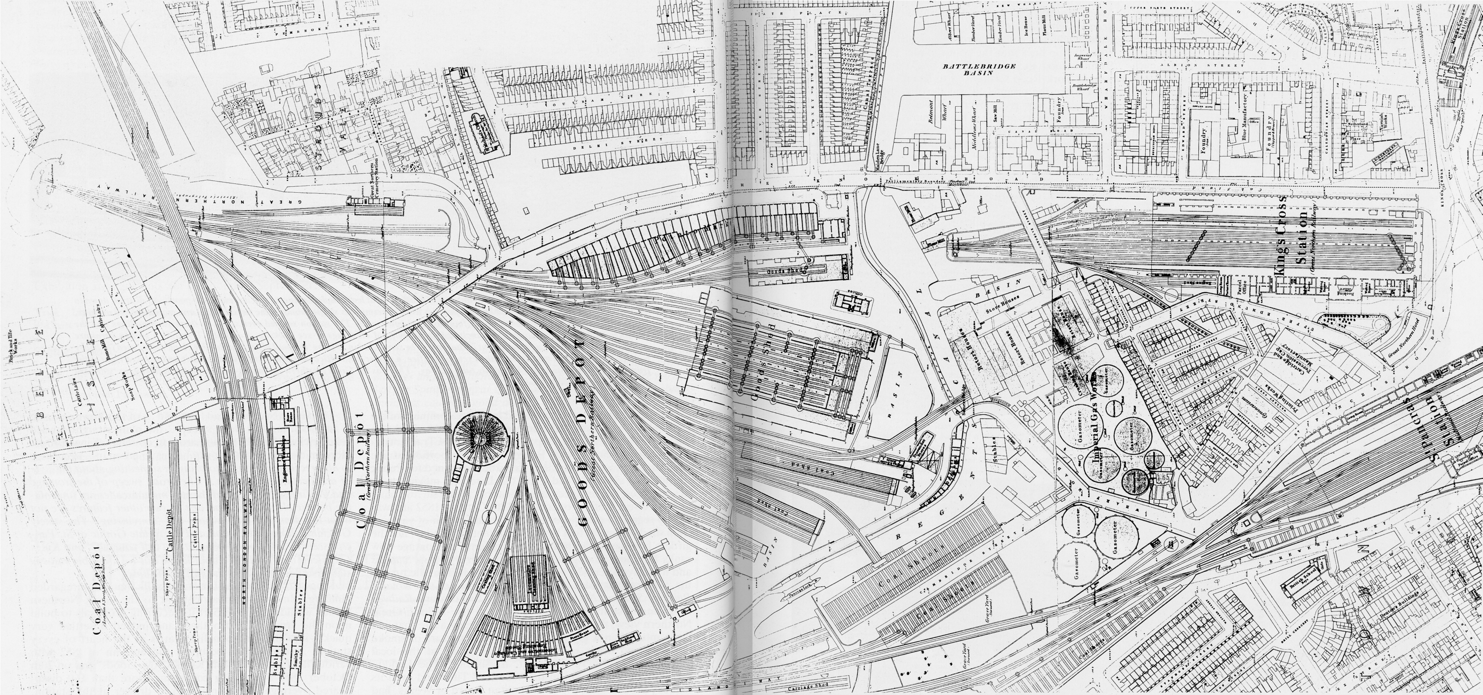 kingsx map1874 - Coal Drops Yard history in photos