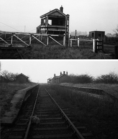 Barmby-on-the-Marsh Station and Signal Box (R.Barron)