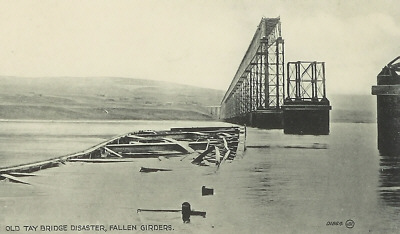 Girders from the collapsed Tay Bridge