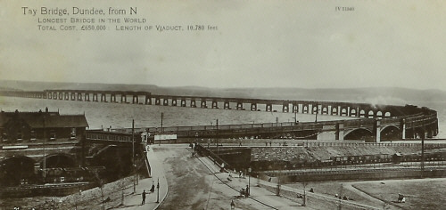 The rebuilt Tay Bridge